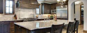 Beautiful kitchen countertop design in San Diego, CA