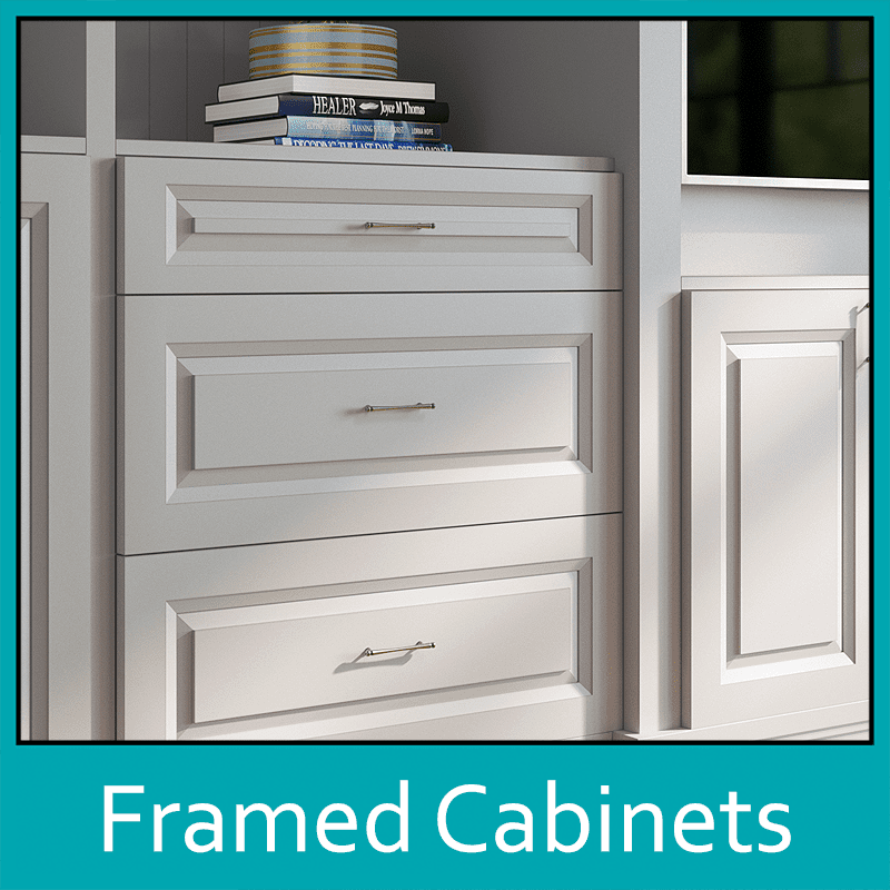 Framed Cabinets by The Countertop Company