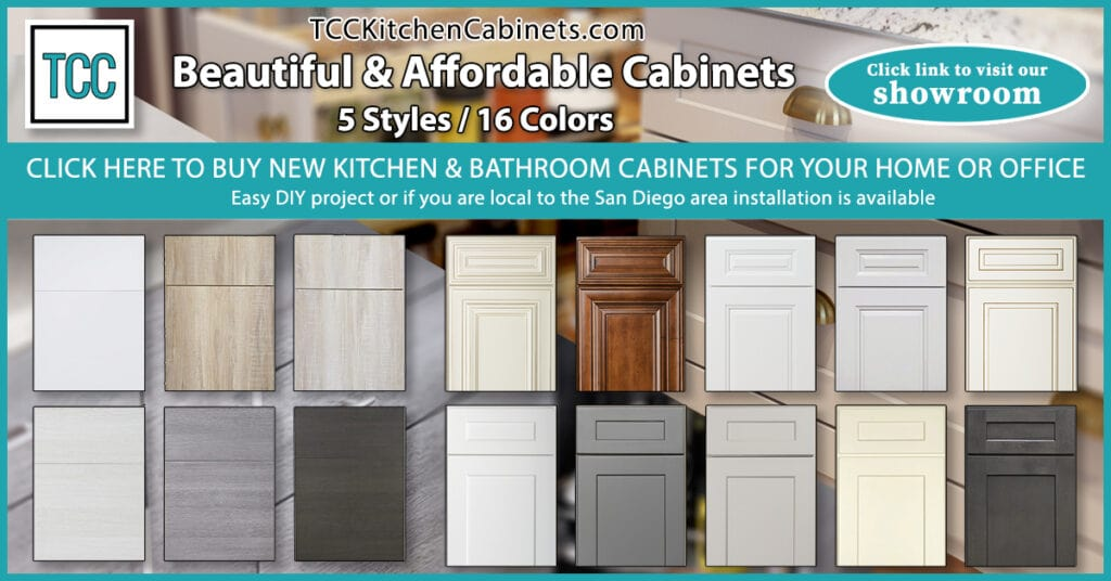 Shop our cabinet Showroom