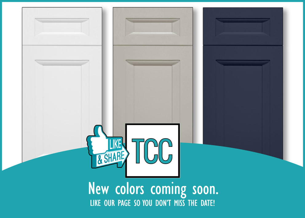 New Cabinet Color Announcement by The Countertop Company