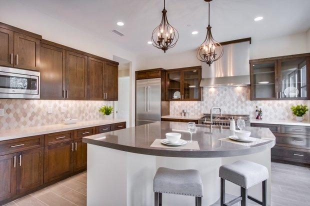Silestone Kitchen Countertop Design in San Diego