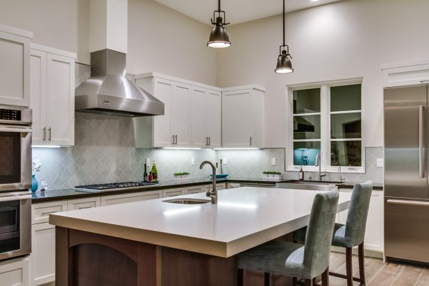 Silesstone Kitchen Counter by The Countertop Company