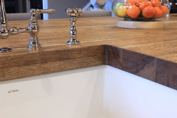 Walnut Cherry Countertop in San Diego