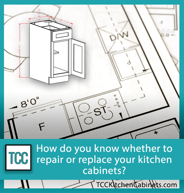 When to replace your kitchen cabinets